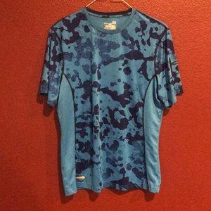UA blue camo shirt